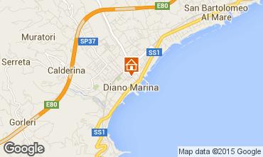 Mappa Diano Marina Appartamento 94807