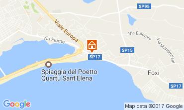 Mappa Quartu Sant'Elena Casa 108012