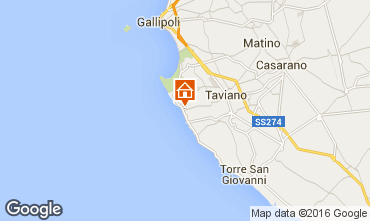 Mappa Gallipoli Villa  101111