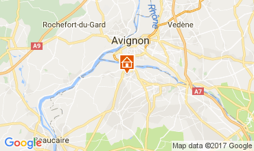 Mappa Saint Rémy de Provence Villa  111549