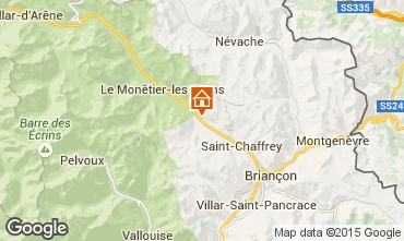 Mappa Serre Chevalier Chalet 2883