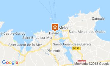 Mappa Dinard Appartamento 117286