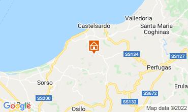 Mappa Castelsardo Casa 86630