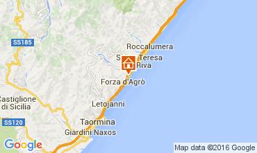 Mappa Taormina Appartamento 44144