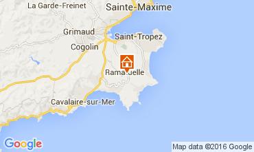 Mappa Ramatuelle Agriturismo 104481