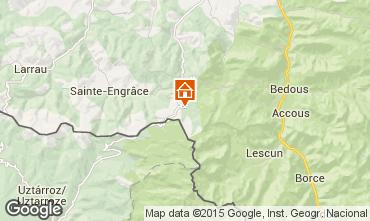 Mappa Arette La Pierre Saint Martin Appartamento 3945