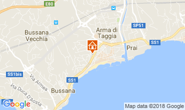 Mappa Taggia Appartamento 115420