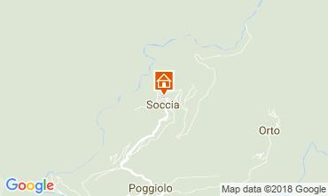 Mappa Soccia Appartamento 82796