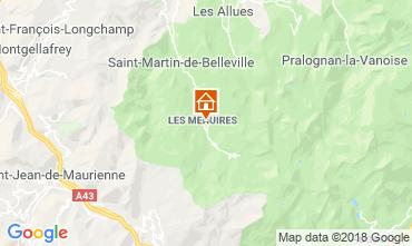 Mappa Les Menuires Monolocale 117573