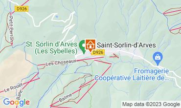 Mappa Saint Sorlin d'Arves Monolocale 81448