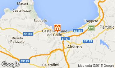 Mappa Castellammare del Golfo Appartamento 86961