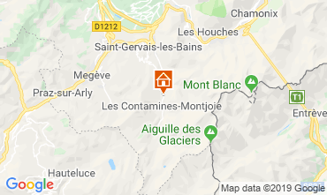 Mappa Les Contamines Montjoie Chalet 923