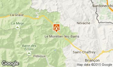 Mappa Serre Chevalier Chalet 2932