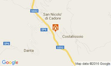 Mappa Santo Stefano di Cadore Appartamento 105295