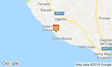 Mappa Ugento - Torre San Giovanni Villa  104522