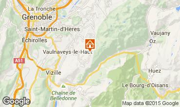 Mappa Chamrousse Chalet 39409