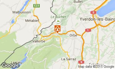 Mappa Les Crosets Appartamento 68860