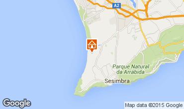 Mappa Lagoa de Albufeira Casa 83370