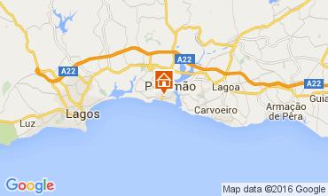Mappa Praia da Rocha Appartamento 88924