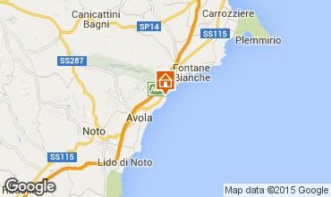 Mappa Avola Villa  65760