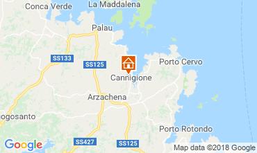 Mappa Cannigione Casa 116432