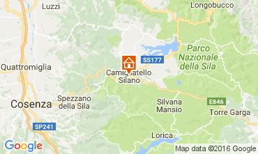 Mappa Camigliatello silano Appartamento 39179