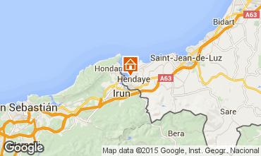 Mappa Hendaye Appartamento 102193