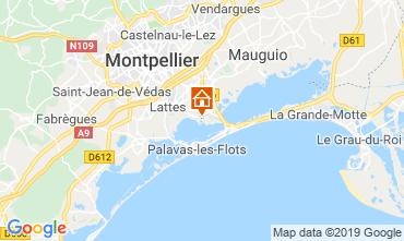 Mappa Montpellier Casa mobile 118369