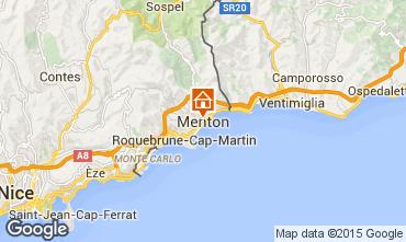 Mappa Menton (Mentone) Monolocale 59821