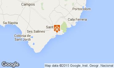 Mappa Santany� Casa 67298