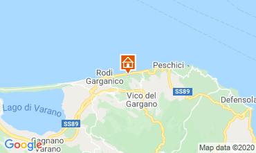 Mappa Rodi Garganico Villa  87267