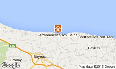 Mappa Arromanches Monolocale 93668
