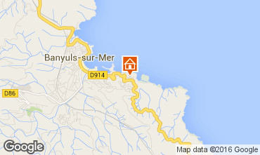 Mappa Banyuls-sur-Mer Casa 94647