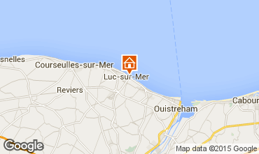 Mappa Luc sur Mer Appartamento 92826