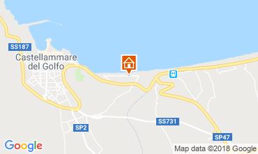 Mappa Castellammare del Golfo Villa  115689