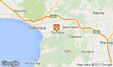 Mappa Scarlino Appartamento 88629