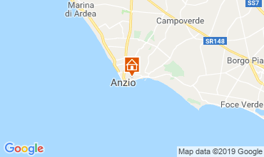 Mappa Anzio Appartamento 118235