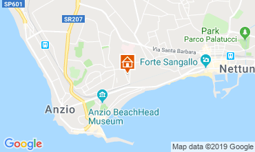 Mappa Anzio Appartamento 118235