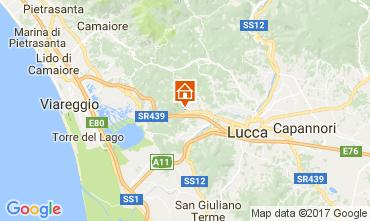 Mappa Lucca Appartamento 112403