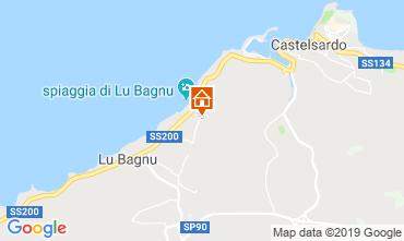 Mappa Castelsardo Appartamento 102970