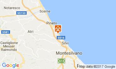 Mappa Silvi Marina Appartamento 111649