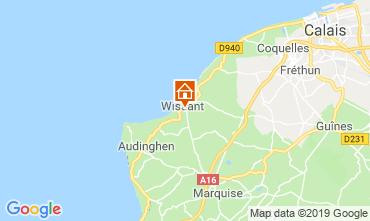 Mappa Wissant Casa 16157
