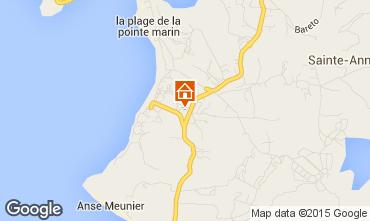 Mappa Sainte Anne (Martinique) Appartamento 58877