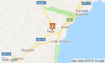 Mappa Noto Appartamento 116950