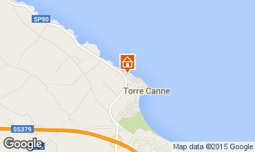 Mappa Torre Canne Appartamento 84301