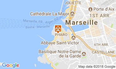 Mappa Marsiglia Appartamento 115437