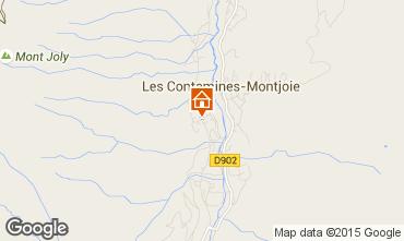 Mappa Les Contamines Montjoie Appartamento 27274