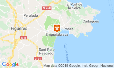 Mappa Empuriabrava Appartamento 118477