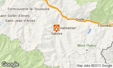 Mappa Valloire Appartamento 83091