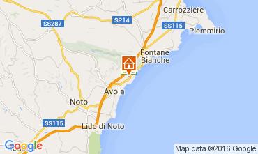 Mappa Avola Villa  104217